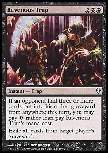 Magic The Gathering - Ravenous Trap (109) - Zendikar