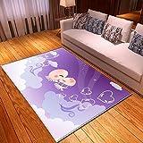 LGXINGLIyidian Casa Tappeto Modello di Arte del Fumetto Anime Classico Tappeto Morbido Antiscivolo per La Decorazione della Casa con Stampa 3D T-501K 120X180Cm