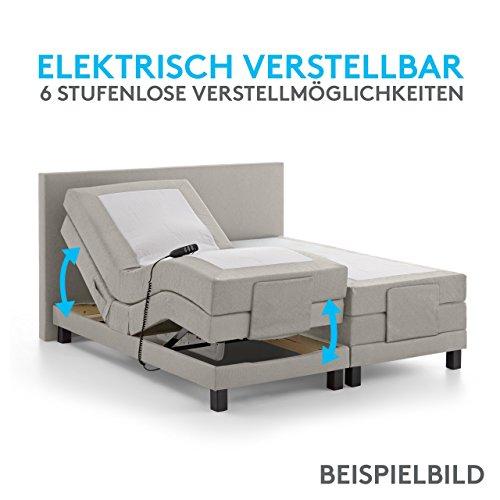 Luxus Boxspringbett Nizza elektrisch verstellbar kaufen  Bild 1*