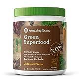 Amazing Grass Green Superfood, Suplemento Alimenticio en Polvo a base de Frutas, Verduras y...