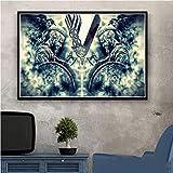 tgbhujk Vikings Classic TV-Serie Show Season Poster Wandkunst Bild Poster und Drucke Leinwand Gemälde für Room Home Decor 60 * 90CM Ohne Rahmen
