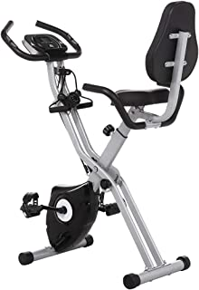 comprar comparacion Profun Bicicleta Estática Plegable de Fitness con Respaldo Xbike con App Pantalla LCD 10-Niveles Ajustable para Ejercicio ...