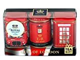 English Teas, 'Mini Caddy Gift Set- City of London', Traditional English Teas...