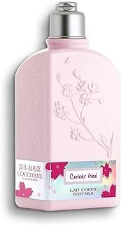 L'Occitane Cherry Blossom Cerisier Irisà Body Milk,8.4 Fl Oz