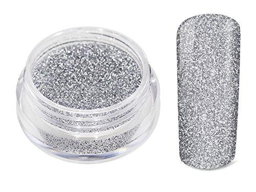 Glitter poeder zilver