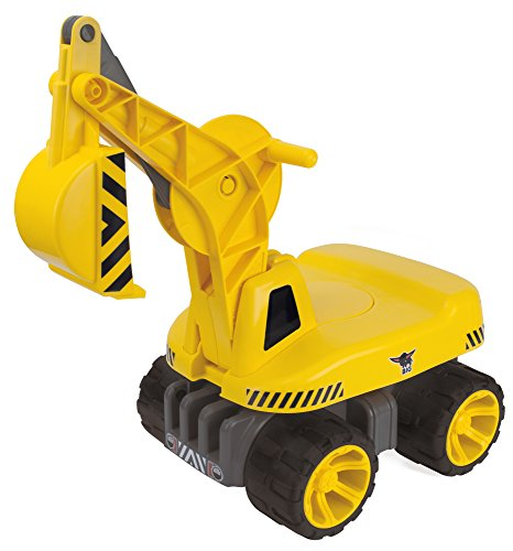 BIG Spielwarenfabrik 800055811 BIG-Power-Worker Maxi-Digger, gelb