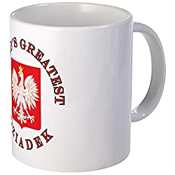 CafePress World's Greatest Dziadek Crest Mug Unique Coffee Mug, Coffee Cup
