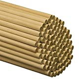 Dowel Rods Wood Sticks Wooden Dowel Rods – 1/2 x...