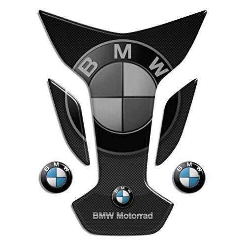 Tankpad Motorad Draht Muster Tankschutz ' BM.W mod Flügel 13x17,5 '' Polymer 3D