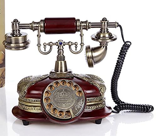 ZHPBHD Teléfono Teléfonos Antiguos de MEADYY TELÉFONO Antiguo Teléfonos de Escritorio Antiguos Teléfonos de teléfono Fijo Antiguo clásico Teléfonos Retro para Regalo
