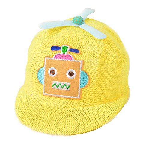 Bébé Garçon Chapeau Mode pour enfant Casquette Funny Chapeau Bébé - Jaune - S
