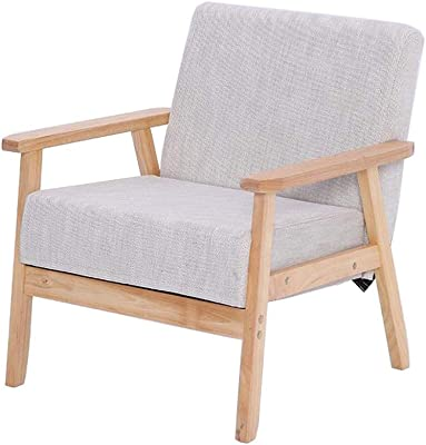 Amazon.com: Hebel Fabric Accent Chair with Wood Legs | Model ...