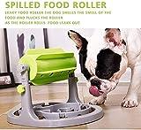 JWCN Perro Interactivo y amp Cat Food Puzzle Juguete Lento Dispensador Alimento Alimentador Lento Capacitación IQ en alimentación Inteligente y Altura Ajustable para Perros pequeños/medianos Uptodat