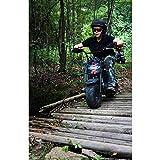 Mega Moto - Gas Mini Bike - 80CC/2.5HP without Suspension (MM-B80-BR)(Black)