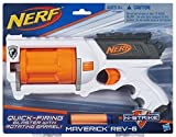 Nerf N-Strike Maverick Rev-6 White