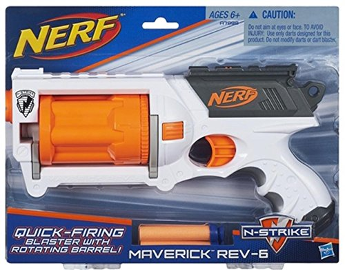Hasbro Nerf N-Strike Maverick REV-6 - White Edition