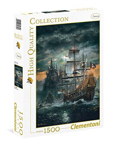 Clementoni 31682 Das Piratenschiff – Puzzle 1500 Teile, High Quality Collection, Geschicklichkeitsspiel für die ganze Familie, detailliertes Legespiel, Erwachsenenpuzzle ab 9 Jahren