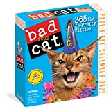 Bad Cat Page-a-Day Calendar 2022: 365 not so pretty kitties