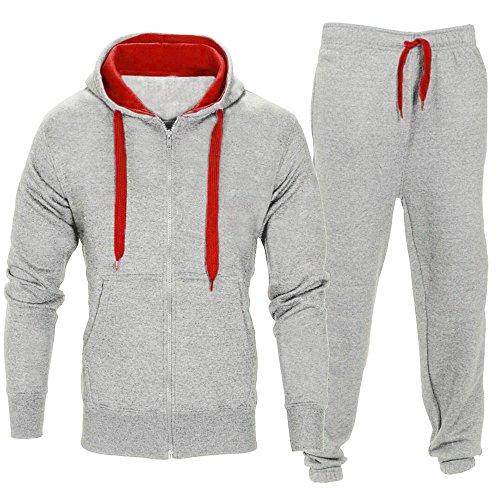 Celucke Herren Trainingsanzug Set Enger Jogging Hosen Sport Hoodie Slim Fit,Casual Männer Sportanzug Jogginganzug