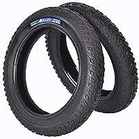 """NO BRAND Neumático de Bicicleta 12"""" 14"""" 16"""" 18"""" 20"""" neumático de la Bicicleta MTB niño llanta de Bicicleta Pulgadas Bicicleta de montaña a Caballo Cubierta de la Rueda (Color : 20 x 2.125inch)"""