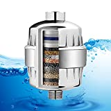 Allin Exporters 15 Stage Shower Filter Tap Hard Water Softener with Replaceable Multi-Stage