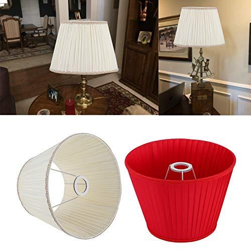 Buena transmitancia de luz, Pantalla de lámpara de pie, Pantalla de Tela, Cubierta de lámpara de Mesa, Telas de Tela, lámpara de pie de Dormitorio