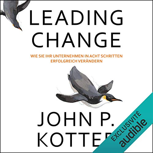 Leading Change audiobook cover art