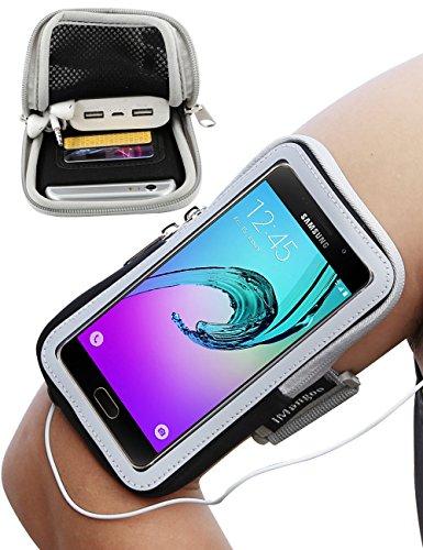 iMangoo Galaxy A5 Funda, Universal teléfono Brazalete Cinta de Correr Deportes al Aire Libre muñeca Bolsa de brazaletes...