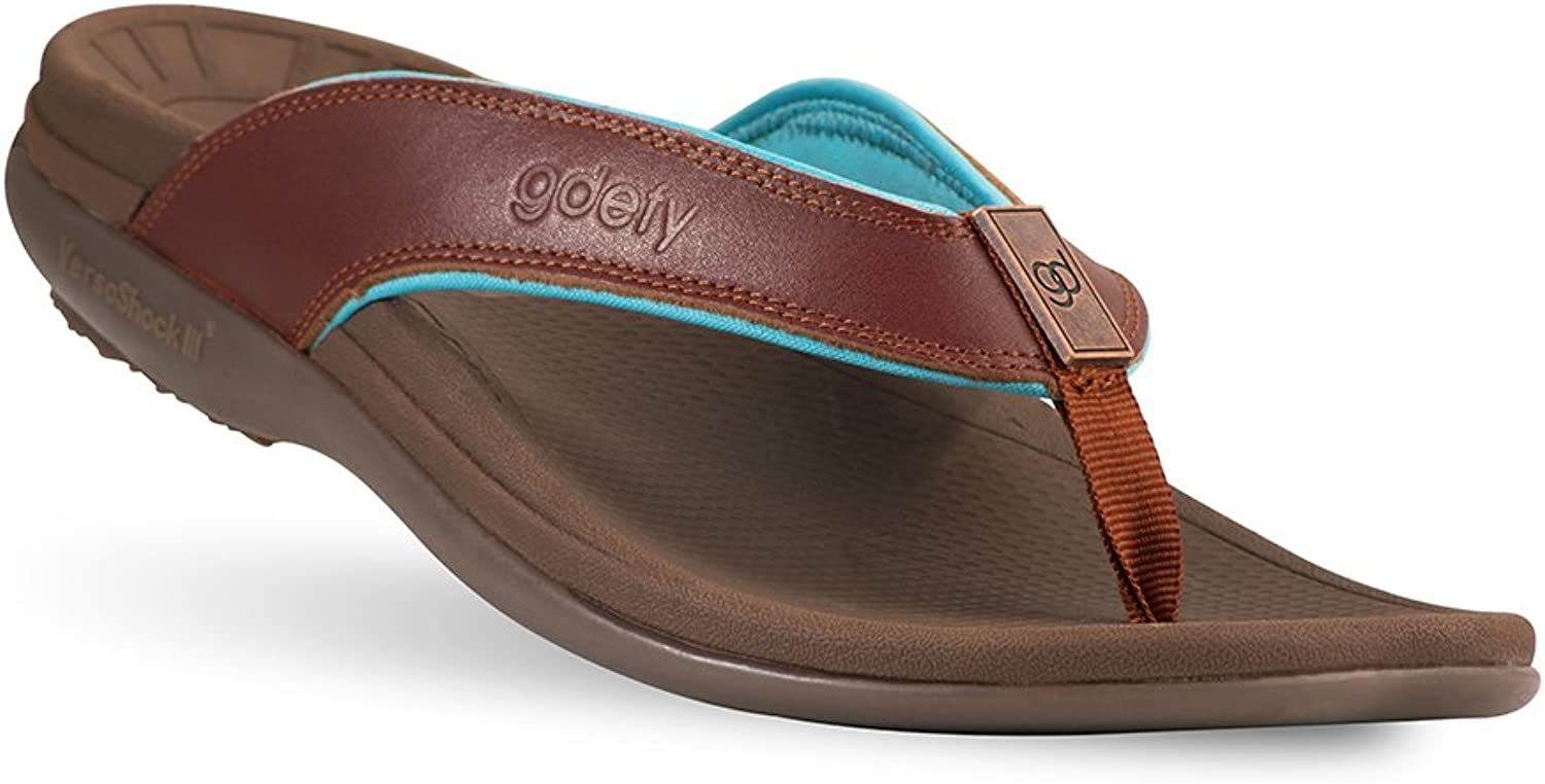 GRAVITY DEFYER Ron Men's Sandals with Arch Support Great for Plantar Fasciitis, Heel Pain, Knee Pain, Back Pain