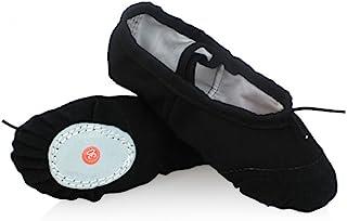 comprar comparacion DoGeek Transpirable Zapatos de Ballet Zapatillas de Ballet de Danza Baile para Ni?a