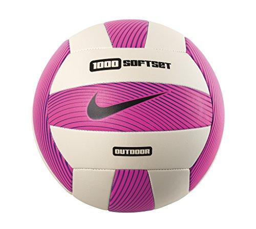 Nike Erwachsene 1000 Softset Volleyball, Hyper pink/White/Hyper Grape/Black, OSFM