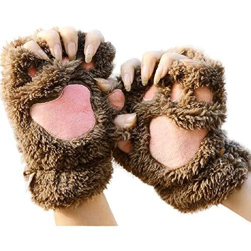 YOUZHA winter handschoenen vrouwen 2019 mode voor dames Pols Arm Warmer Gebreid Keyboard Lange Vingerloze Mitten