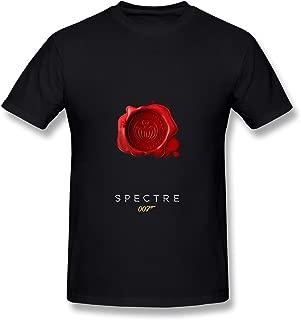 ZIYUAN Men's 007 Spectre 2015 T-Shirt