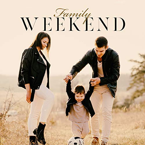 Family Weekend - Relaxing Together on the Sofa to the Rhythms of Gentle Jazz, Board Games, Reading Books, Cooking Tasty Dishes, Visiting Friends