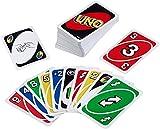 Mattel Games UNO classic, juego de cartas (Mattel W2087)