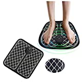 zeipy Foot Massager Micro-Electric Intelligent Massage Cushion Intelligent Capture of Acupuncture Points Dredge The Soles of Feet and Sooth Foot Fatigue, Leg Reshaping Foot Massager Machine