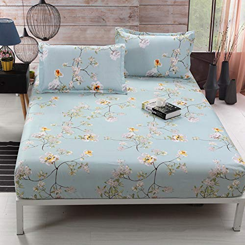huyiming Gebruikt voor Single piece bed cover Simmons beschermhoes Bed set 1.5 single bed pad set stofkap dubbel 1.8m bed