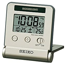Seiko CLOCK clock night lights radio digital tiger Bella (LIGHTGOLD) SQ772G