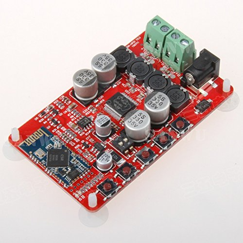 Great Deal! Diybigworld TDA7492P Bluetooth power amplifier board Bluetooth audio receiver before and...