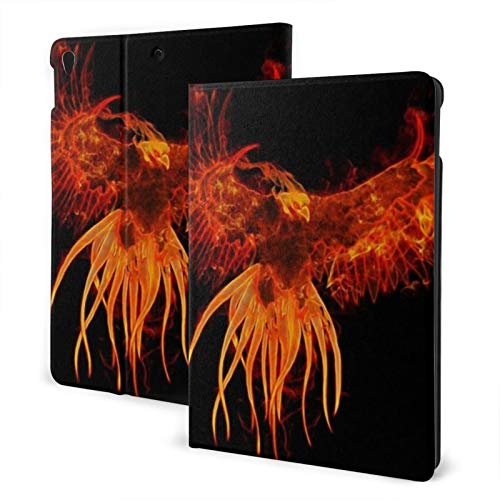 Fire Phoenix New Ipad Case Fit 7th Generation/ Air3, Full-Body Trifold with Built-in Screen Protector Protective Smart Cover with Auto Sleep/Wake
