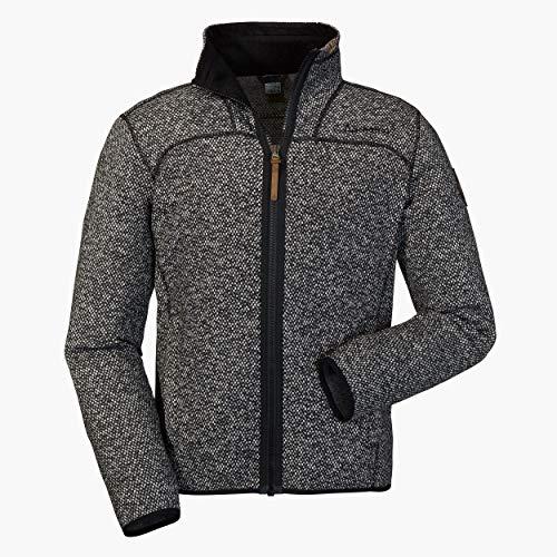 Schöffel Herren Fleece Jacket Anchorage2 Fleecejacke , grau , (asphalt) , 52