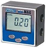 Fowler Full Warranty Mini-MAG Protractor, 54-422-450-1, 360° Maximum Measurement, 0.05° Repeatability