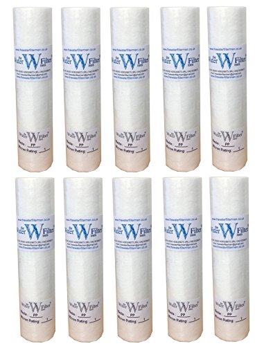 Reverse Osmosis Wasserfilter, Filtern von Partikeln bis zu 1 Mikron, 25,4cm, 10 Stück