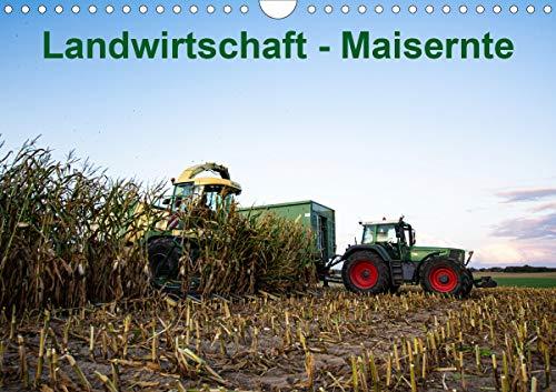 Landwirtschaft - Maisernte (Wandkalender 2020 DIN A4 quer)