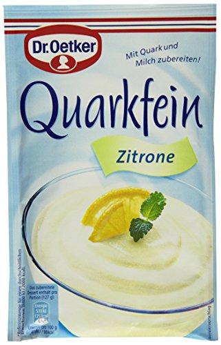 Dr. Oetker Quarkfein Zitrone, 57 g
