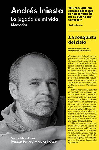 Portada del libro La jugada de mi vida de Andrés Iniesta