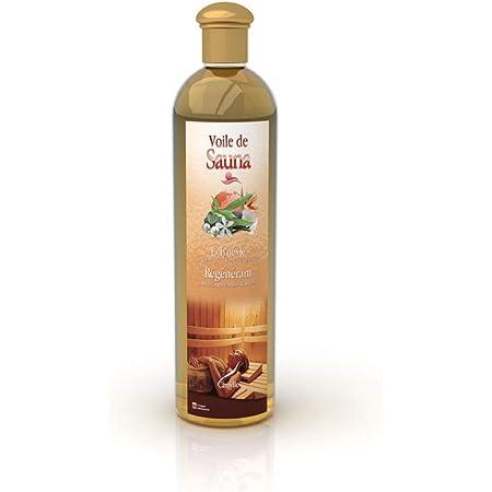 Camylle - Voile de Sauna Polynésie - Fragrances à base d'Huiles Essentielles 100% Pures et Naturelles pour Sauna - Régénérant aux arômes vanillés et fruités - 250ml