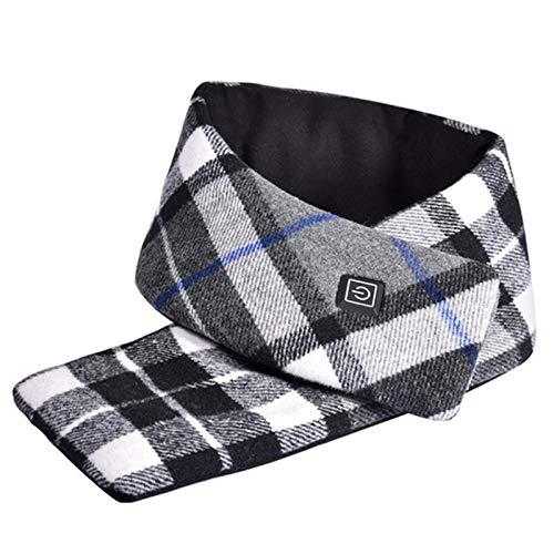 ZHANGY USB beheizter Schal, DREI-Gang-Thermostat, geeignet für zu Hause, im Büro, im Freien und in Anderen...