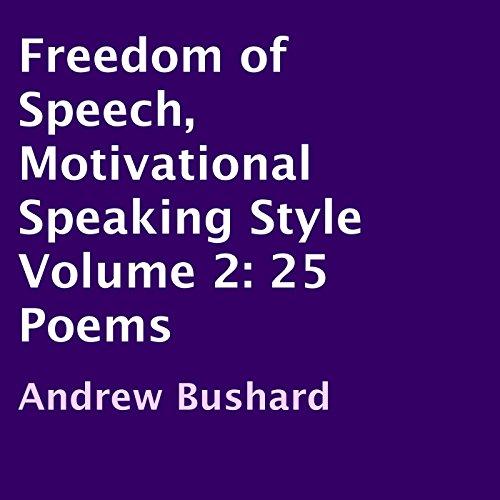 Freedom of Speech, Motivational Speaking Style audiobook cover art