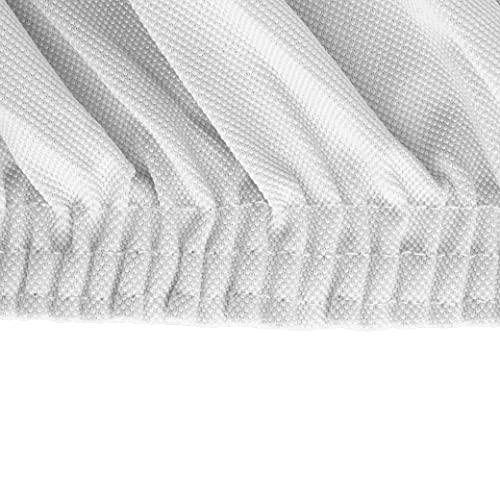 BIANCHERIAWEB Magico Copridivano 3 Posti Elasticizzato, Telo Copridivano Tinta Unita Bianco, Adatto a Divani da 150 a 220 cm con Profondità Seduta 65 cm, Copri Divano Antimacchia e Antipelo